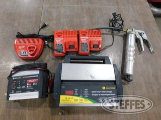 2 Asst battery chargers 1 jpg