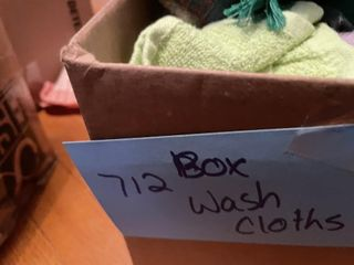 Box of Wash Cloths