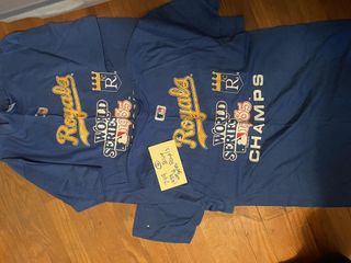 Royals 1985 Never Worn World Series T shirts