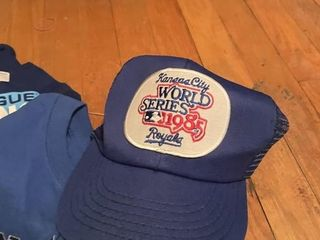 Royals 1985 World Series Collectables