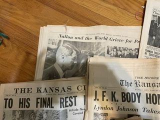 Kennedy KC STAR NEWSPAPER