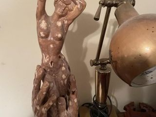 Naked lady Art Sculpture