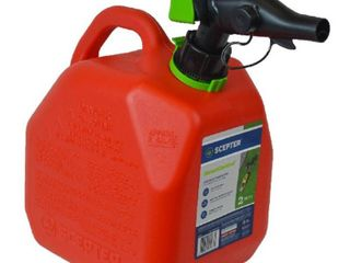 Scepter 2 Gallon SmartControl Gas Can  FR1G201  Red  dented  not cracked