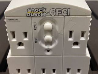 GFCI outlet shock buster