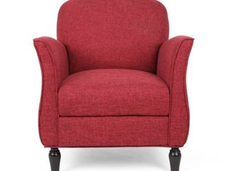 Swainson Traditional Tweed Armchair by Christopher Knight Home Retail 217 99