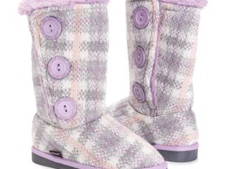 Purple   12  MUK lUKS Girl s Malena Boots