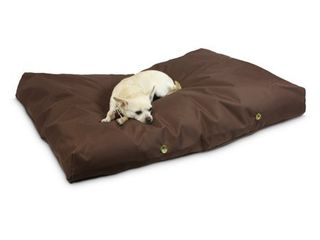 Cat Dog   Removable Cover Machine Washable   Brown   Extra large Small   Rectangle