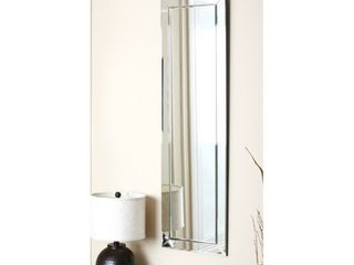 loft Silver Modern Rectangle Wall Mirror by Abbyson Retail 129 99