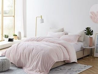 Coma Inducer Twin Xl Comforter   Frosted   Rose Quartz