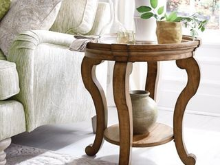 Carbon loft Michael Oval End Table