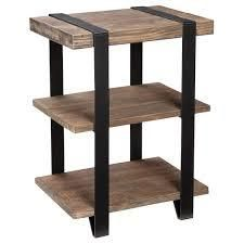 Carbon loft Kenyon Reclaimed Wood End Table