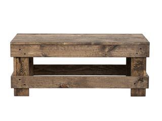 Del Hutson Designs landmark Pine Wood Coffee Table