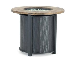 Sego lily logan Round Fire Table