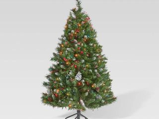 Spruce Artificial Christmas Tree w  Accessories by Christopher Knight Home