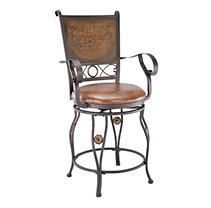 Powell Aberdeen Counter Stool w  Arms