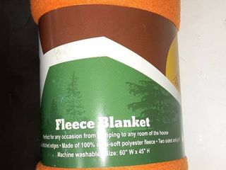 Trail Worthy Fleece Blanket