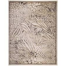 Admire Home living Gallina Modern Contemporary Animal Print Pattern Area Rug