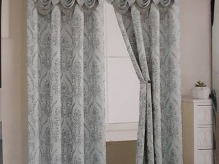 Penelope Single Curtain Panel w  Valance