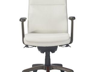 White la Z Boy Modern Dawson Executive Office Chair Retail  330 99