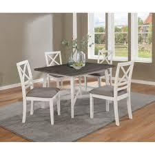 The Gray Barn Azalea Mound Dark Truffle and Vintage Vanilla 5 piece Counter Height Dining Set Retail  884 49 Missing Table legs