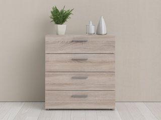 Angus 4 Drawer Engineered Wood Chest