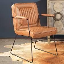 Carbon loft Teigen Faux leather Chair