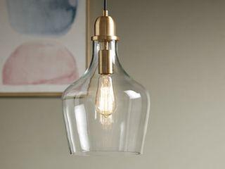 Abalone Glass Pendant light by Hampton Hill  Retail 111 99