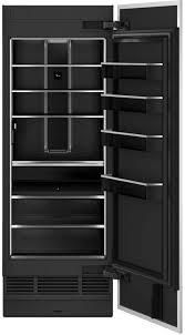 Jennair 30 in  wide 17 cf Energy Star Rated Built in Counter Depth Refrigerator  JJBRFR30IGX Panel Ready
