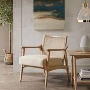 Carson Carrington Saue light Brown Accent Chair