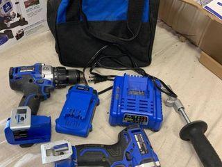 Kobalt 24V Brushless Drill Impact Combo Kit