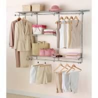 Rubbermaid Fast Track Closet 3 6 Feet Expandable Closet Kit