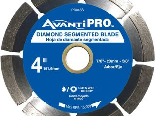 Avanti Pro 4 in  Segmented Diamond Blade