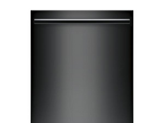 Bosch 100 Series Top Control Tall Tub Dishwasher in Black with Hybrid Stainless Steel Tub and 3rd Rack