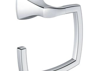 Moen YB5186CH Voss Towel Ring  Chrome