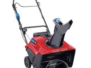 Toro Power Clear 21 in  W 212 cc Single Stage Electric Start Gas Snow Thrower