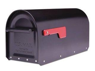 Sequoia Post Mount Mailbox Black