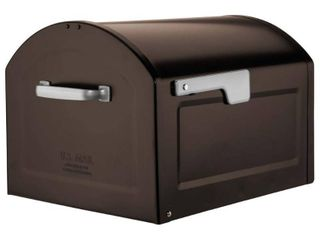 Centennial Extra large Capacity Post Mount Mailbox Rubbed Bronze