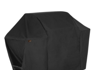 MODERN lEISURE Chalet Water Resistant 4 Burner Grill Cover  58 in  W x 25 in  D x 44 5 in  H  Small