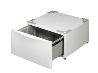 lG   27  laundry Pedestal with Storage Drawer   White