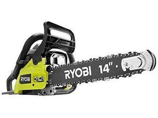 RYOBI 14 in  37cc 2 Cycle Gas Chainsaw