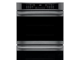 Electric Wall Oven with True Convection Self Cleaning in Black Stainless Steel
