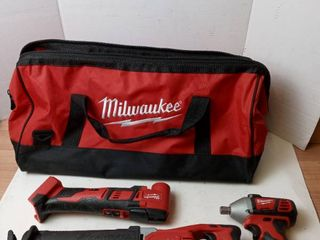Milwaukee tool kit set of 3 includes Sawszall NO BATTERIES INClUDED