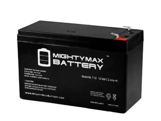 MIGHTY MAX BATTERY 12 Volt 7 Ah Sealed lead Acid  SlA  Rechargeable Battery