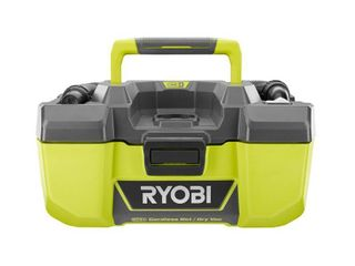ryobi 18 volt one  3 gal project wet dry vacuum and blower with accessory storage  tool only
