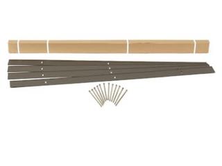 Easy Flex 24ft Bronze Aluminum landscape Edging Section  Qty 4