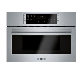 Built In Microwave in Stainless Steel with Drop Down Door and Sensor Cooking