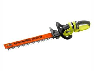 RYOBI ONE  22 in  18 Volt lithium Ion Cordless Battery Hedge Trimmer  Tool Only