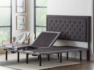 lUCID Comfort Collection Deluxe Adjustable Bed Base Twin Xl  Retail 1055 99