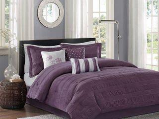 Madison Park Richmond 7 Piece King Comforter Set  Retail 169 98