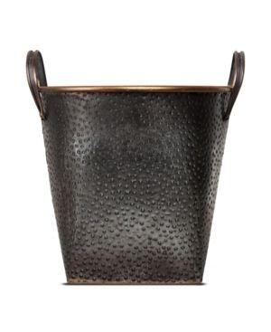 American Art Decor Metal Storage Basket   large  Retail 88 49